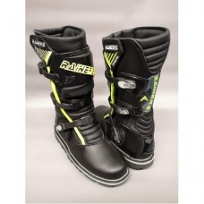 Rainers Black/Fluro 3040 Trial Boot Trials Boots